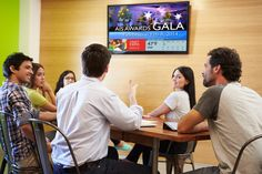 Breakrooms, call centers, corporate offices and factories can benefit from employee Communications Digital Signage. Learn More.
