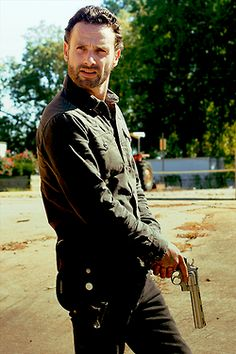 There's something about a good looking man with a revolver that drives me crazy! Especially if its Officer Rick!