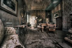 Old Living Room Part 2 by Jerome Obille on 500px