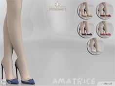 Sims 4 CC's - The Best: Madlen Amatrice Shoes by MJ95