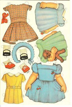 Las Recortables de Veva e Isabel: 7 Darling Dolls