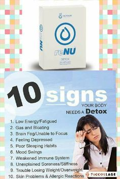 Renu detox 30 day supply