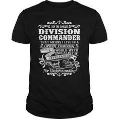 (Tshirt Order) DIVISION-COMMANDER [Tshirt design] Hoodies, Funny Tee Shirts