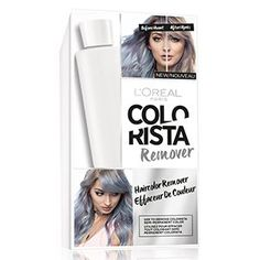 Color mistake? Remove semi permanent hair color in one process with Colorista hair dye remover.