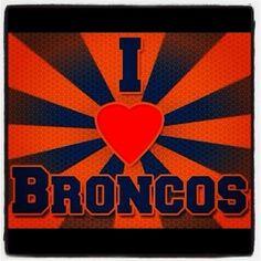 Twitter / krissalovely: Let's go Broncos!! ...
