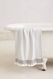 Tasseled Dayton Hand Towel - Hand Towels - Ideas of Hand Towels . Tasseled Dayton Hand Towel – Hand Towels – Ideas of Hand Towels Serene Bathroom, Small Bathroom, Bathrooms, Bathroom Towel Decor, Bathroom Ideas, Decorative Hand Towels, Powder Room Design, Bath Towels, Furniture