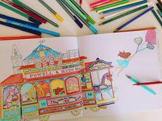 Pásalo en grande coloreando el Jardín del Tiempo de Daria Song, lo último en libros para colorear.