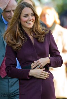 Catherine, Duchess of Cambridge at Newcastle Civic Center. October 10, 2012.