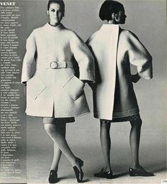 Italian Vogue, photo by Irving Penn, 1966