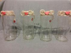 Twórczo Aktywnie Kreatywnie: Flakoniki na kwiaty
