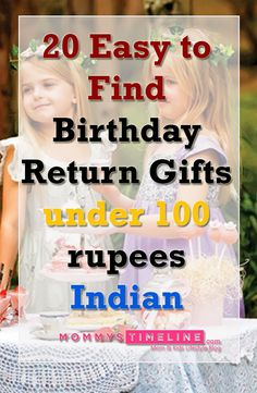 I know kids birthdays require lots of planning and one part of that is return gifts. I have to organize my daughter's birthday party in few days and so looking for return gifts for 5th birthday party. Again scratching my head for Birthday Return Gifts under 100 rupees to suit my budget.