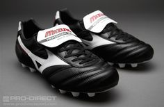 Mizuno Football Boots - Mizuno Morelia II - Firm Ground - Soccer Cleats - Black-White-Red