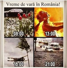 The weather in Romania funny memes jokes Best Funny Pictures, Funny Images, Funny Photos, Smart Jokes, Funny Jokes, Russian Humor, Sarcastic Quotes, Man Humor, Good Mood