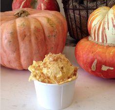 Pumpkin Ice Cream from A La Minute #IHeartOnTheHunt #AllThingsFall #FallDecor #Fall #Halloween