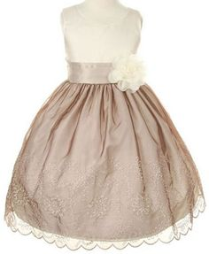 Elisabeth likes this one. Kiki Kids Flower Girl Dresses, Infant, Toddler - Fashionable Childrens Formals on Discount Sale Prices, Cheap Childrens Bridesmaid Dresses, Junior Bridesmaid Dresses, Kids Flower Girl Dresses, Little Dresses, Tea Length, Infant Toddler, Formal Wear, Baby Girls, Cool Girl