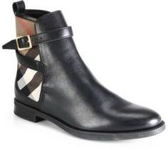 Burberry Richardson Leather