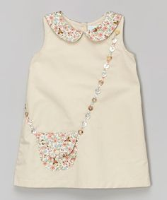 Zulily Handbag Appliqued Dress Perfect examples of how to wear children's clothes - Nähen - Baby Clothes Little Dresses, Baby Outfits, Little Girl Dresses, Kids Outfits, Baby Dresses, Dress Girl, Sewing For Kids, Baby Sewing, Fashion Kids