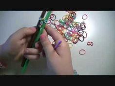 ▶ tutorial braccialetti con elastici erika - YouTube