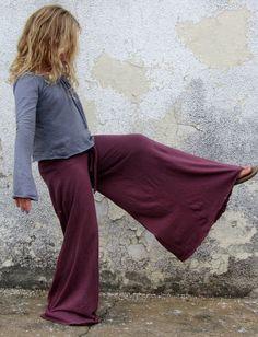 Gaia Conceptions Organic Clothing - Girls - Wanderer Pants, $85.00 (http://www.gaiaconceptions.com/girls-wanderer-pants/)