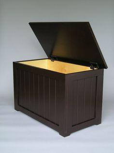 Ash N'Walnut https://www.etsy.com/shop/ashnwalnut http://ashnwalnut.com/  Storage Box / Seat by ashnwalnut on Etsy, $265.00