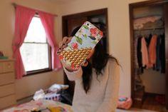 Iphone + cute case