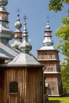 Turzańsk. Drewniana cerkiew greckokatolicka z 1803 roku. / Turzansk. Wooden Greek Catholic Tserkva from 1803. Podkarpackie Poland UNESCO WorldHeritageList