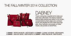 The Dabney Collection comes in all 4 sizes: Petite, Classic, Demi & Prima. See Miche's newest styles now at www.FunBagBiz.com #Miche #purses #handbags #style #fashion #love4miche #funbagbiz #stylishobsession