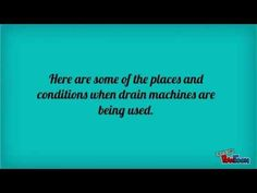 Gorlitz – Drain Machines: When to Use Them? | Gorlitz Sewer and Drain Inc.