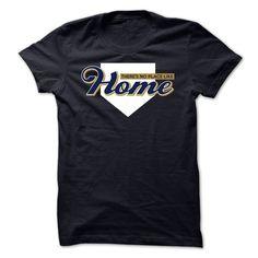 (Cool T-Shirts) Theres No Place Like Home - Milwaukee baseball shirt - Buy Now