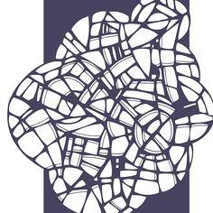 Illustrator exploration #art #illustrator #graphicdesign #adobe #tiles #blue #navy #abstract #geometric #artist #design #graphic #l4l