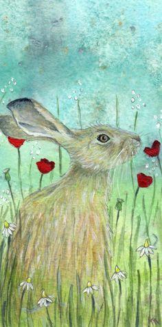 Meadowscent - Artist print - Hare