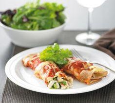Chicken enchiladas by Healthy Food Guide Healthy Pasta Bake, Broccoli Pasta Bake, Healthy Baking, Healthy Food, Healthy Life, Pasta Recipes, Chicken Recipes, Dinner Recipes, Cooking Recipes