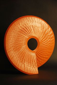 ceramics by Michael Rice. The color and texture are so beautiful. The more you look at it, the more it draws you in.