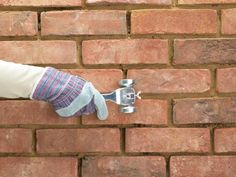 Learn how to re-apply new mortar to old bricks.