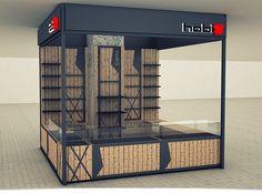 Retail Kiosk design for Hobix