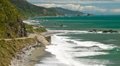 Coast Road, Westport to Greymouth.  Hike through limestone formations and ancient native forests in the southwest corner of the Kahurangi National Park.  Northern extremity of the south islands west coast highway.