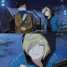 Did you see that precious smile of Yurio???!!!