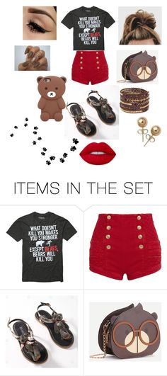 """""""Summer Loven#30(Beary)"""" by taco-lambert ❤ liked on Polyvore featuring art"""