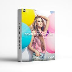 Chic Lightroom Presets & Brushes - The Complete Collection. 480+ Presets & Brushes. This collection was designed for the photographer with a flair for...