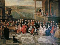 Paul Joseph Delcloche - Hofkonzert beim Fürstbischof von Lüttich auf Schloß Seraing