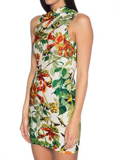 Hummingbird High Neck Toastie Dress (AU $90AUD / US $72USD) by Black Milk Clothing