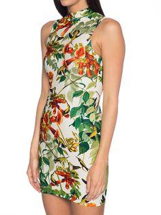 Hummingbird High Neck Toastie Dress (AU $90AUD / US $72USD) by Black Milk Clothing
