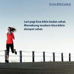 Lari pagi kalau dijadikan gaya hidup, badan bisa jadi sehat. Coba kalau #CaraMenabungModern dijadiin gaya hidup yang bunga per tahunnya bisa sampai dengan 7%, tanpa biaya admin dan pajak. Dompet kamu pasti jadi sehat dan masa depan kamu jadi lebih tenang.  www.ipotku.com #CaraModernMenabung #CaraBaruMenabung #Menabung #PertamaDiIndonesia #Investasi #Reksadana #YukNabungReksadana #YukNabungViaChat #BeliReksadanaViaChat #InvestasiViaChat #Creative #Creativity #opportunity #success #sukses