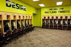Portland Timbers - Locker Room