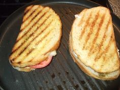 Carolina Charm: Mozzarella Grilled Cheese