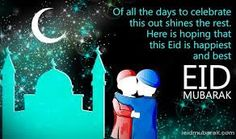 eid mubarak wishes to friends and family