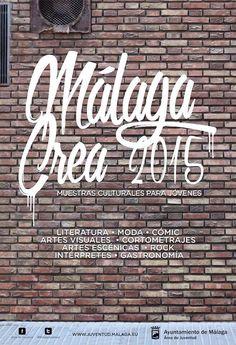 Málaga Crea es un certamen artístico de muestras culturales que lleva celebrándose en Málaga durante veintiséis años. Está compuesto por nueve muestras diferentes, entre ellas la de Moda. Cinco alumn@s de Academia Jalón participarán!!!