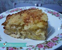 Torta de banana - Super prática » Amando Cozinhar