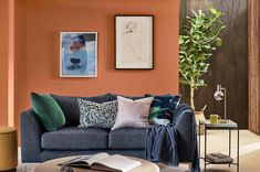 Living room ideas for every style and budget | loveproperty.com Sofa, Couch, Living Room Paint, Chesterfield, Budgeting, Your Space, Throw Pillows, Bed, Interior