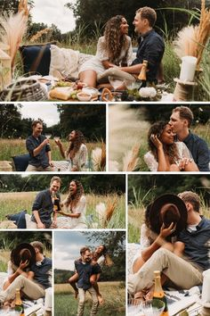 come up with something that is personal to you both? I vote the latter! The photos will be totally unique, beautiful and authentic to who you and your partner are as a couple!...danikeanephotography.com Picnic Engagement Photos, How To Make Fire, Under The Stars, Sweet Couple, Love Photos, The Ordinary, Photo Sessions, Boho, Couples